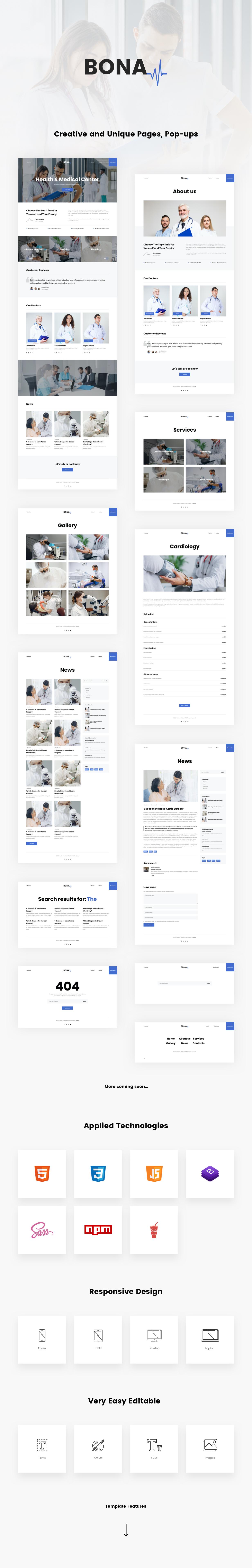 Bona HTML Presentation