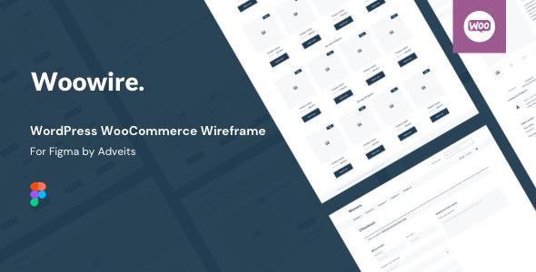 Woowire – WordPress WooCommerce Wireframe for Figma