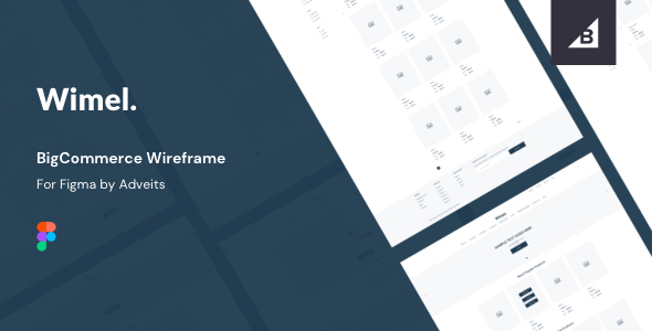 Wimel – BigCommerce Wireframe for Figma