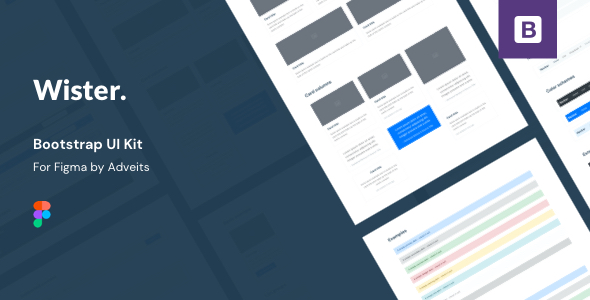 Wister – Bootstrap UI Kit for Figma